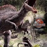 Jurassic Park 3 Spinosaurus Statue 005