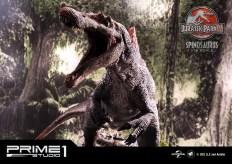 Jurassic Park 3 Spinosaurus Statue 011