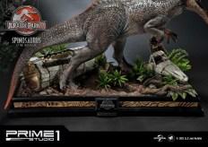 Jurassic Park 3 Spinosaurus Statue 028