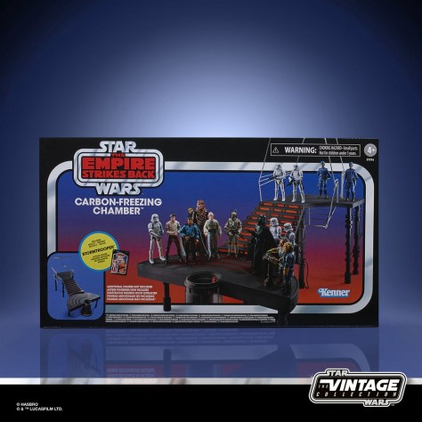 Star wars The Vintage Collection - Carbon-Freezing Chamber Playset 001