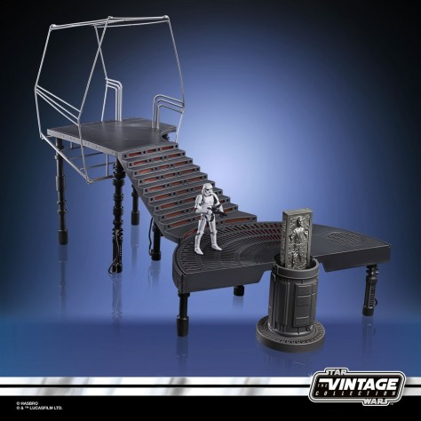 Star wars The Vintage Collection - Carbon-Freezing Chamber Playset 005
