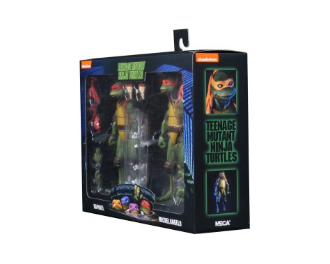 TMNT 1990 Raphael and Michaelangelo 2 Pack 002