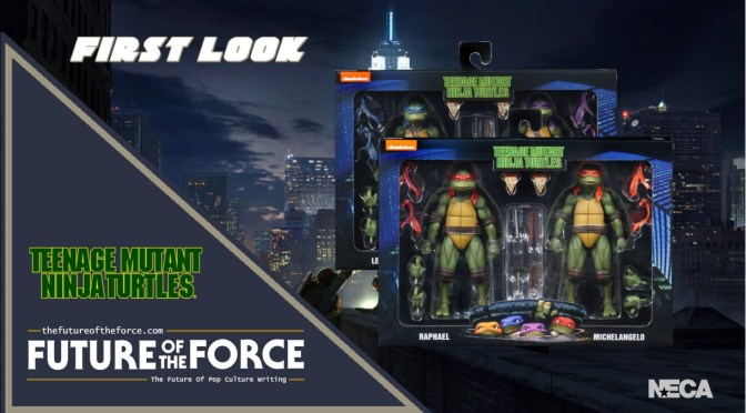 NECA to Re-Release the Teenage Mutant Ninja Turtles 1990 Movie Figures as 2-Packs
