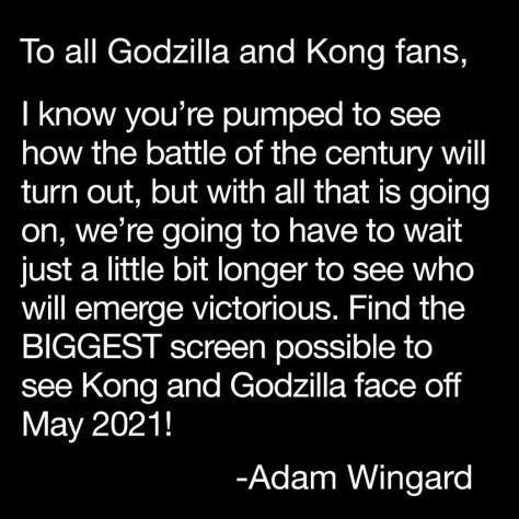 Adam Wingard on Godzilla Vs Kong