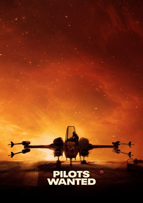 Star Wars Squadrons X-Wing Poster