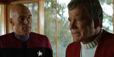 Star Trek Generations - Kirk and Picard