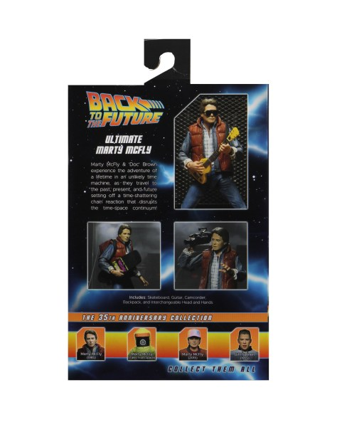 Back to the Future 1985 Marty Mcfly NECA 003