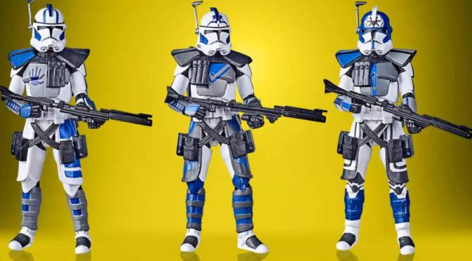 Star Wars: The Clone Wars – 501st Legion Arc Troopers Vintage Collection Set Revealed