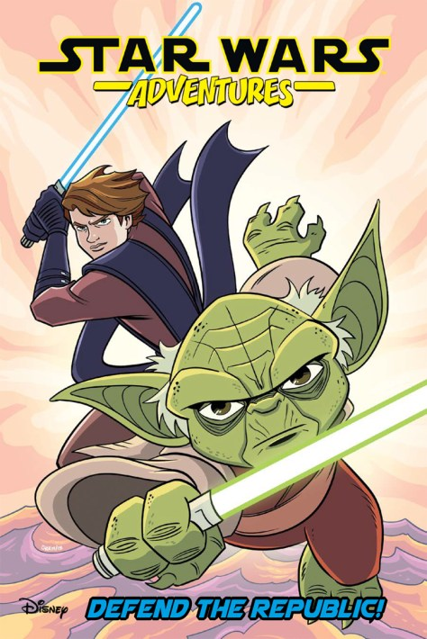 Star Wars Adventures Vol. 8: Defend the Republic