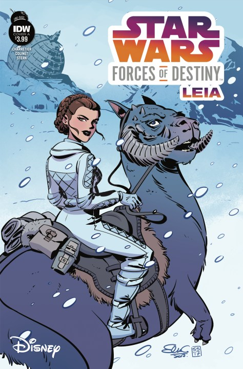 Star Wars Forces Of Destiny - Leia