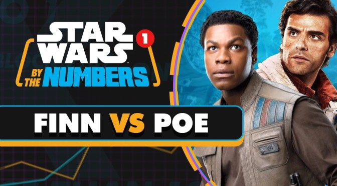 Star Wars By The Numbers | Every Time Someone Says Finn or Poe in the Sequel Trilogy
