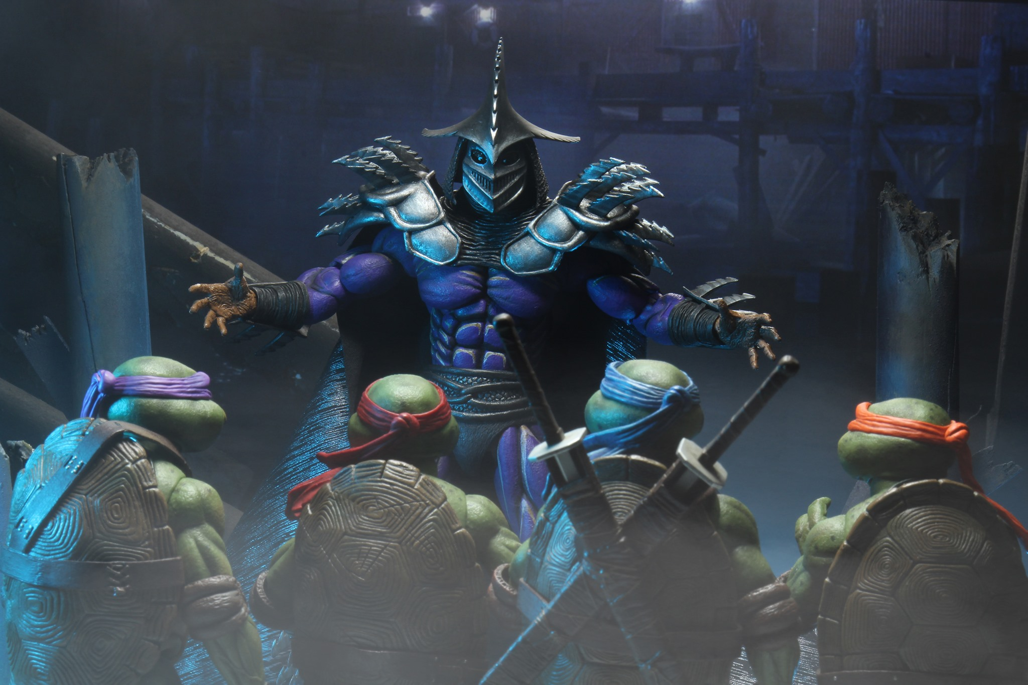 First Look | Promotional Images For NECA's Super Shredder (TMNT II)