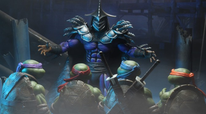 First Look | Promotional Images For NECA's Super Shredder (TMNT II)