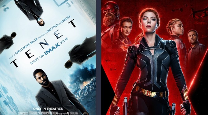 Tenet and Black Widow Featured