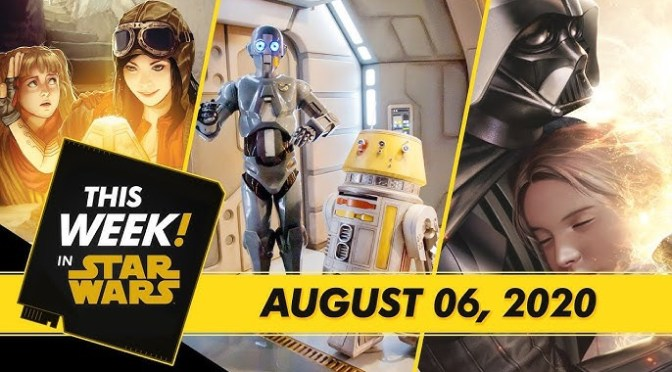 This Week! in Star Wars | A Look Inside Darth Vader #4, Jedi Temple Challenge Fun, and More!