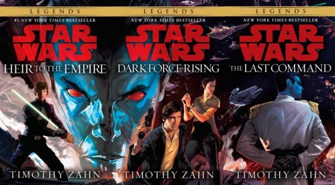 Timothy Zahn's Original Thrawn Trilogy To Be Re-released