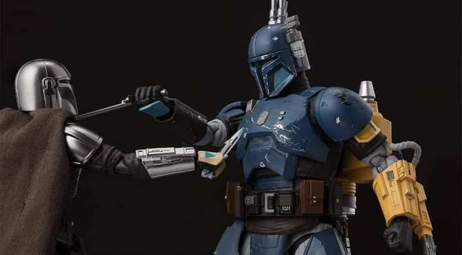 FIRST LOOK | S.H. Figuarts Heavy Infantry Mandalorian Figure Revealed!