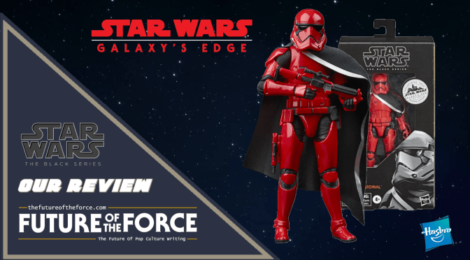 Black Series Review | Captain Cardinal (Star Wars Galaxy's Edge)
