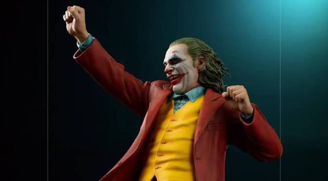Check Out The Stunning New Joker Movie Statue From Iron Studios
