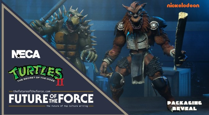 FIRST LOOK | Final Packaging For The 'TMNT II: The Secret Of The Ooze' Tokka & Rahzar NECA Set