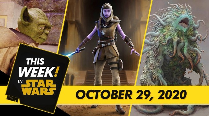 This Week! In Star Wars | The Mandalorian Virtual Red Carpet Premiere, What Scares the Jedi, and More!