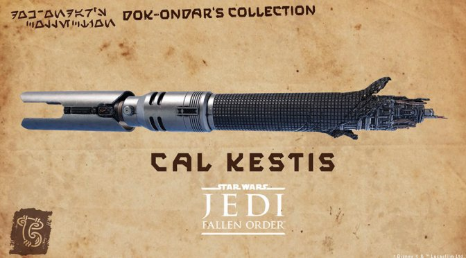 Cal Kestis' Lightsaber is Coming to Galaxy's Edge!