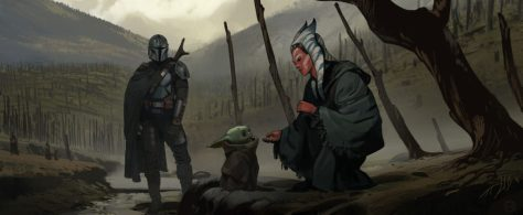 The Mandalorian concept art - 001