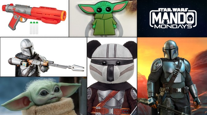 Mando Mondays | New Hasbro, Hot Toys, Build-A-Bear and Nerf Merch Revealed