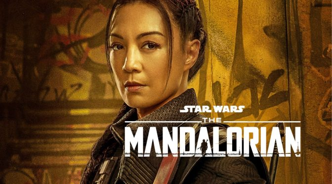The Mandalorian Character Poster Fennec Shand Cropped