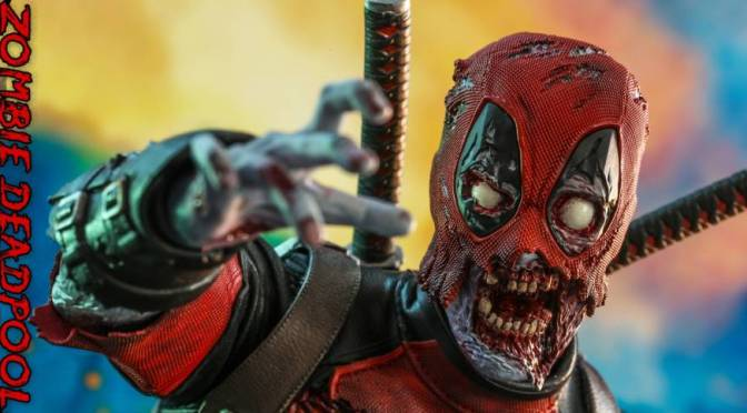 Hot Toys | Marvel Zombies Deadpool Figure Unveiled