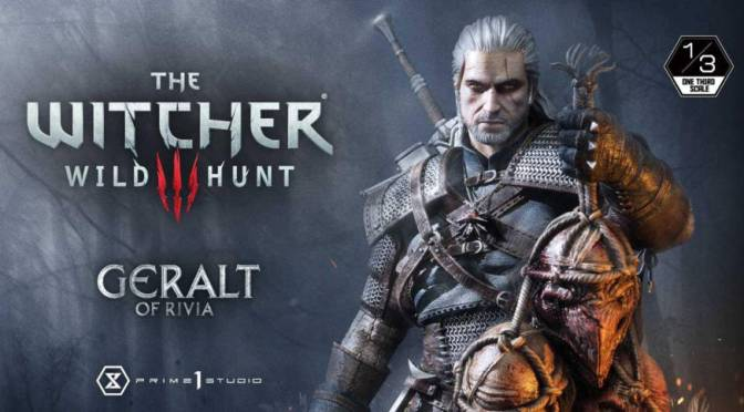 First Look | The Witcher 3: Wild Hunt – Geralt of Rivia 1/3 Scale Statue