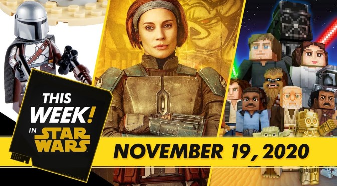 This Week! In Star Wars | An Exclusive LEGO Look, New Star Wars: Squadrons Ships, and More!