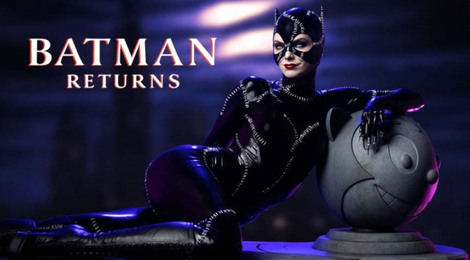 Batman Returns | Catwoman Maquette From Tweeterhead (Sideshow Collectibles)
