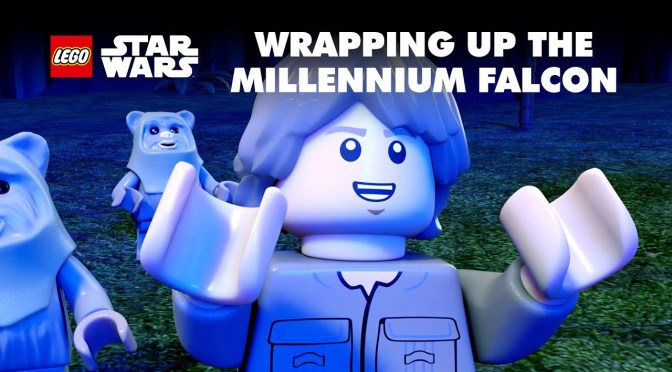Wrapping Up The Falcon | LEGO STAR WARS: Celebrate the Season