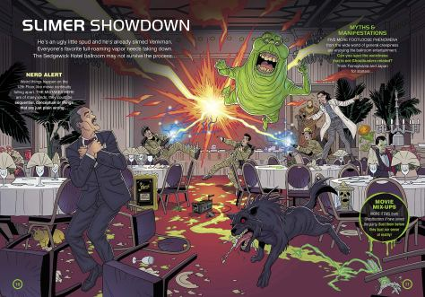 Ghostbusters Nerd Search Slimer Showdown