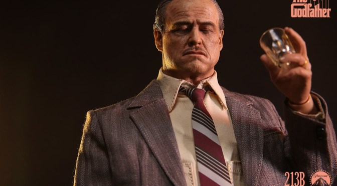 The Godfather – Don Vito Corleone Golden Years Figure by DAMTOYS