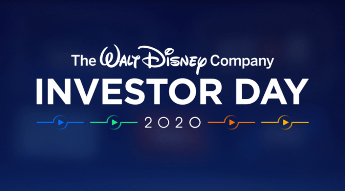 Tonight | The Walt Disney Company Investor Day 2020