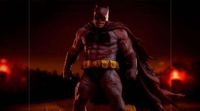 First Look | The Dark Knight Returns – Batman 1/6 Scale Diorama Statue From Iron Studios