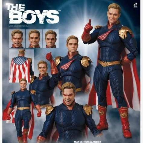 Mafex Homelander Preview