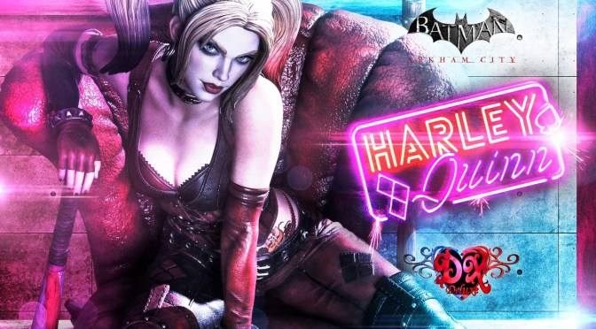First Look | 'Batman: Arkham City' Harley Quinn Statue From Prime 1 Studio