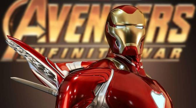 First Look | Iron Man Mark 50 (Avengers: Infinity War) 1/2 Scale Statue by Queen Studios