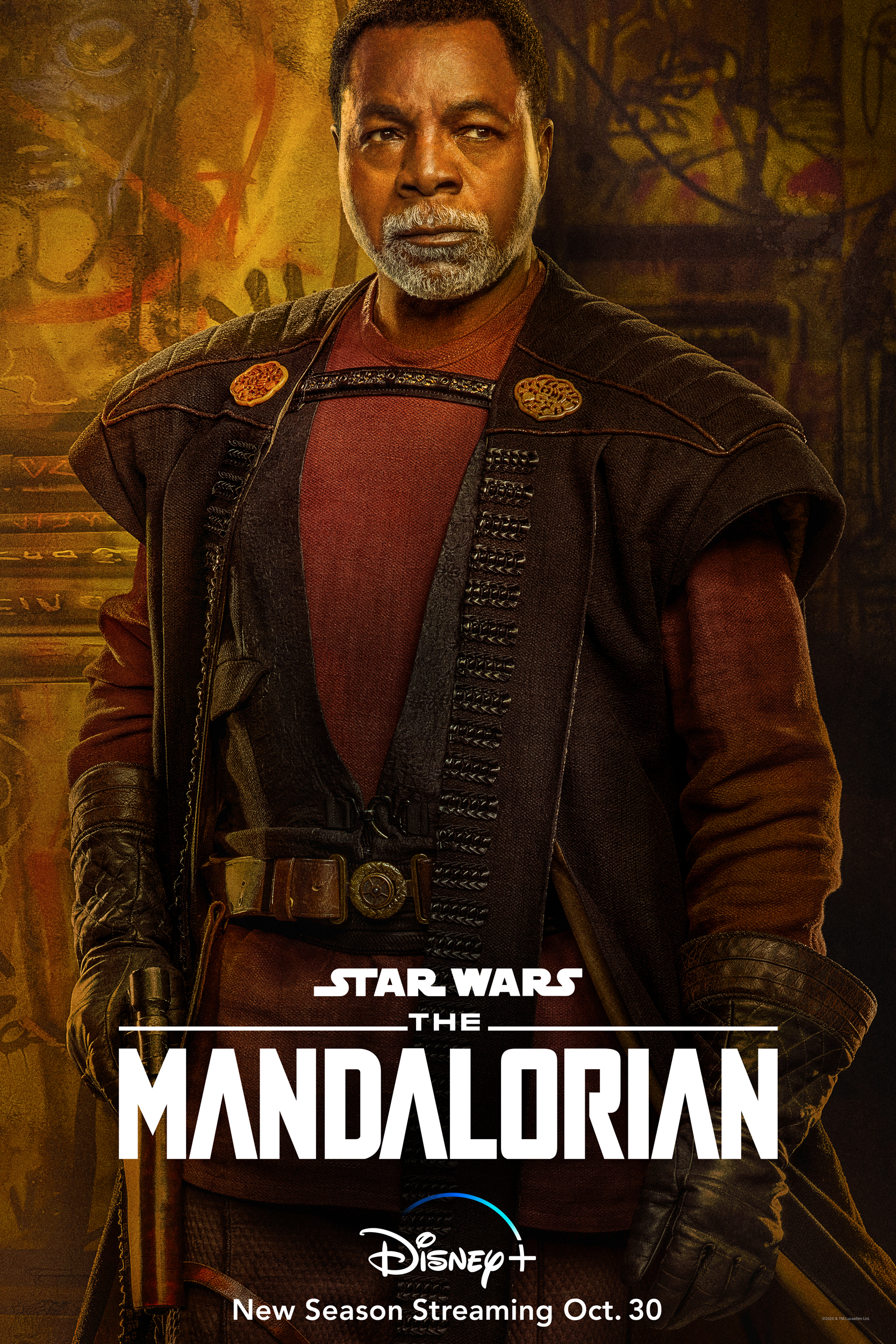 The Mandalorian Character Poster Greef Karga