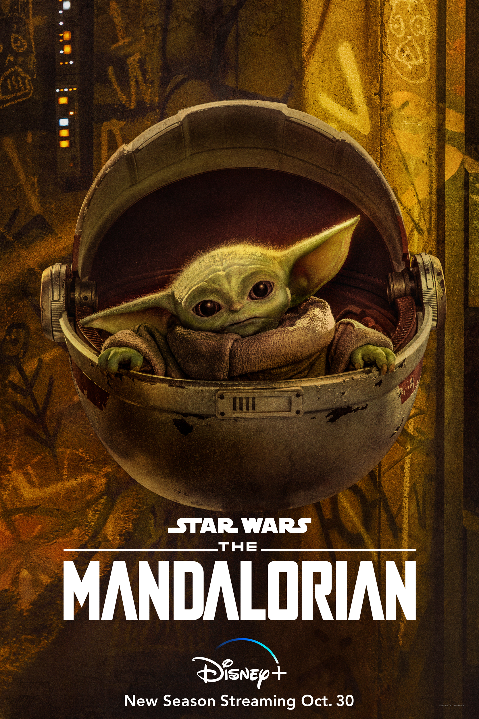 The Mandalorian Character Poster The Child