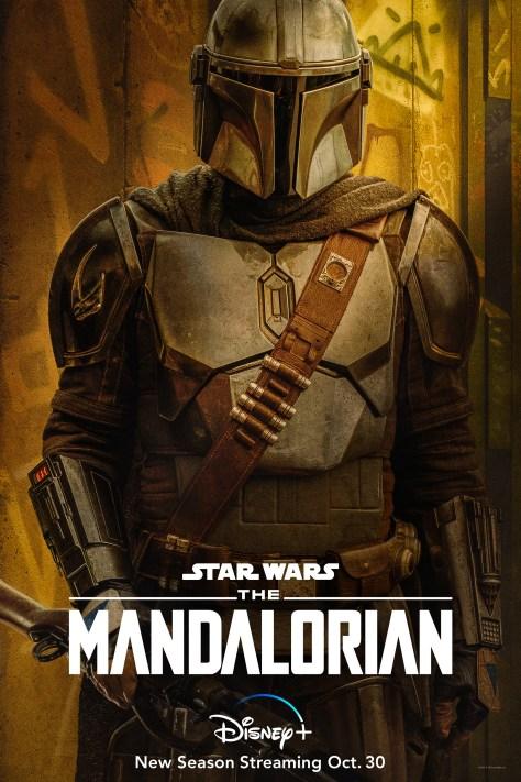 The Mandalorian Character Poster Mando Din Sjarin