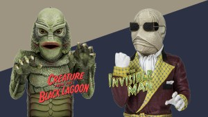First Look | 'Creature From The Black Lagoon' And 'The Invisible Man' Spinature Mini-Busts From Waxwork Records