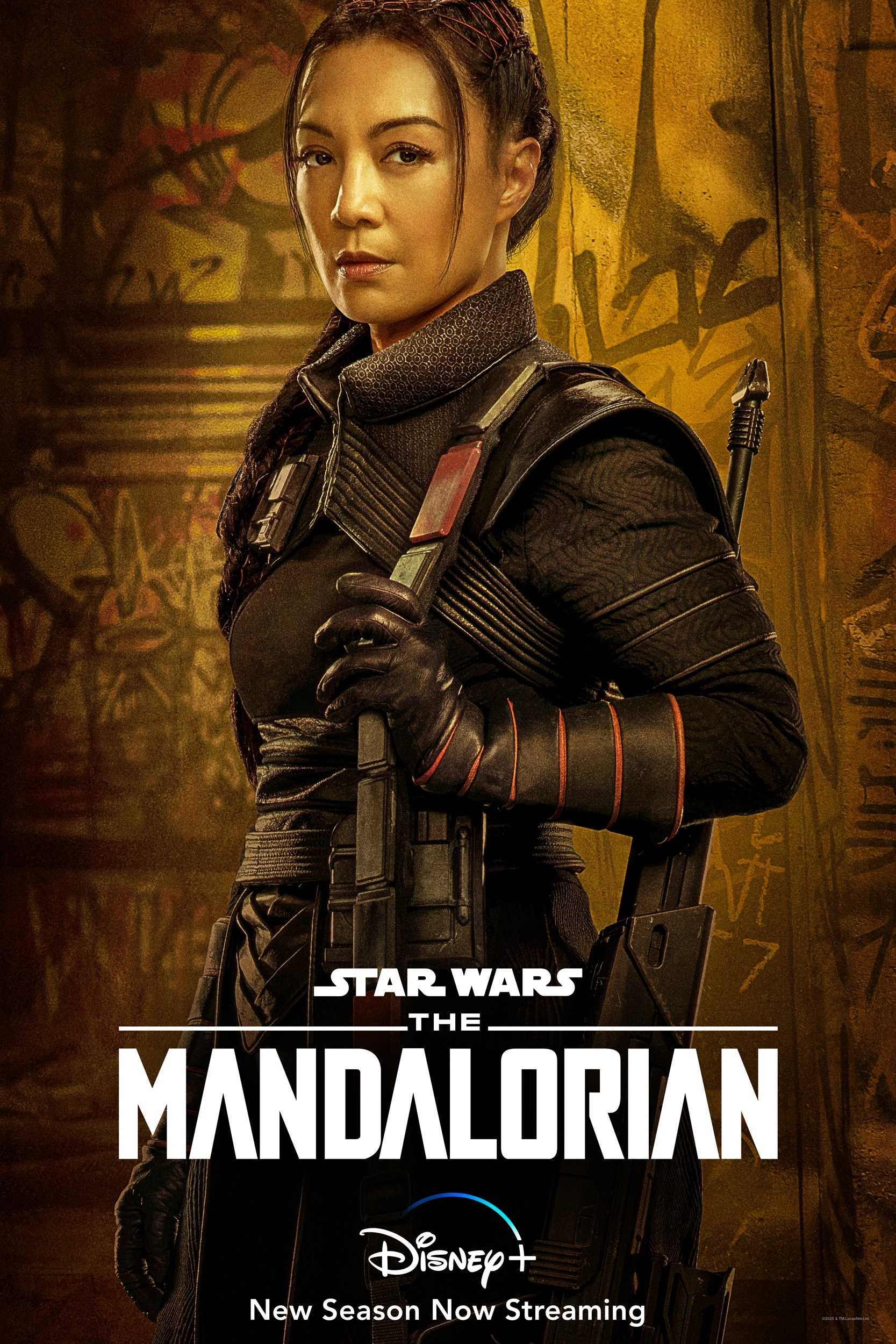 The Mandalorian Character Poster Fennec Shand