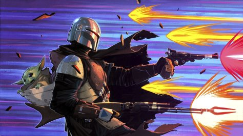 The Mandalorian Fortnite Loading Screen
