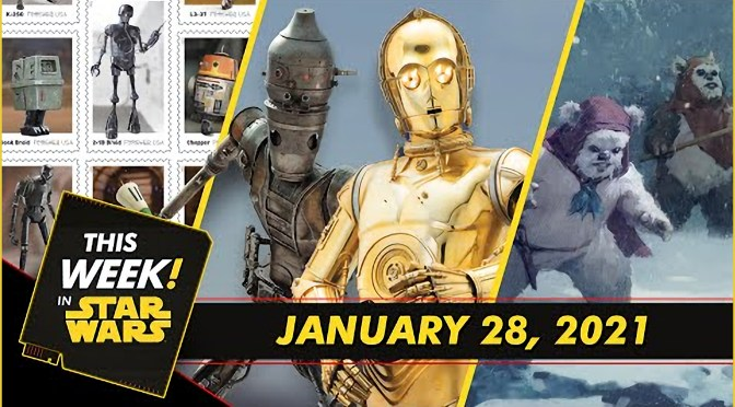 This Week In Star Wars | Droids Join USPS, An Exclusive Look at Life Day Art, and More!