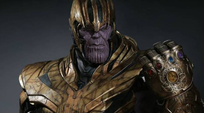 Thanos Avengers Endgame Life-Size Bust Coming From Queen Studios