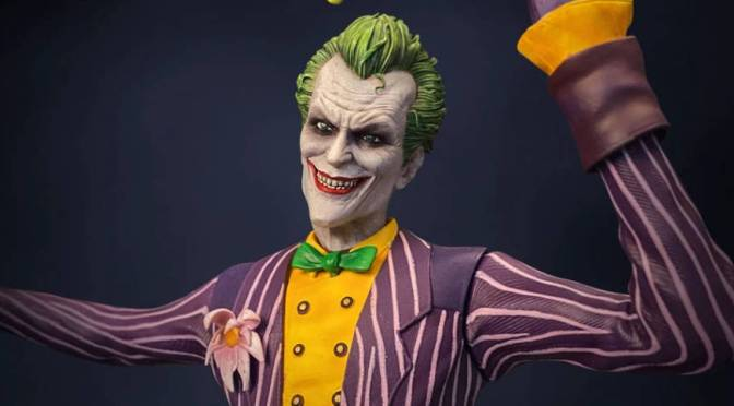 Batman Arkham Asylum | The Joker Statue by Silver Fox Collectibles